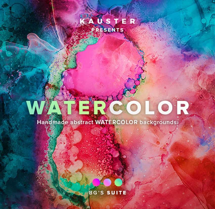 Colorful Watercolor Backgrounds