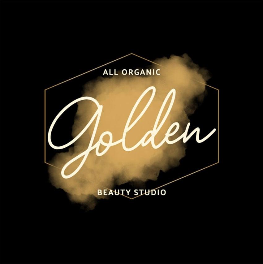 Gold Black Logo Design