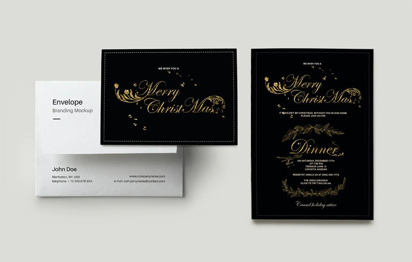 Rose Gold Party Invites