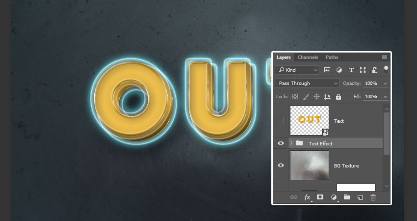 Text Effect Group