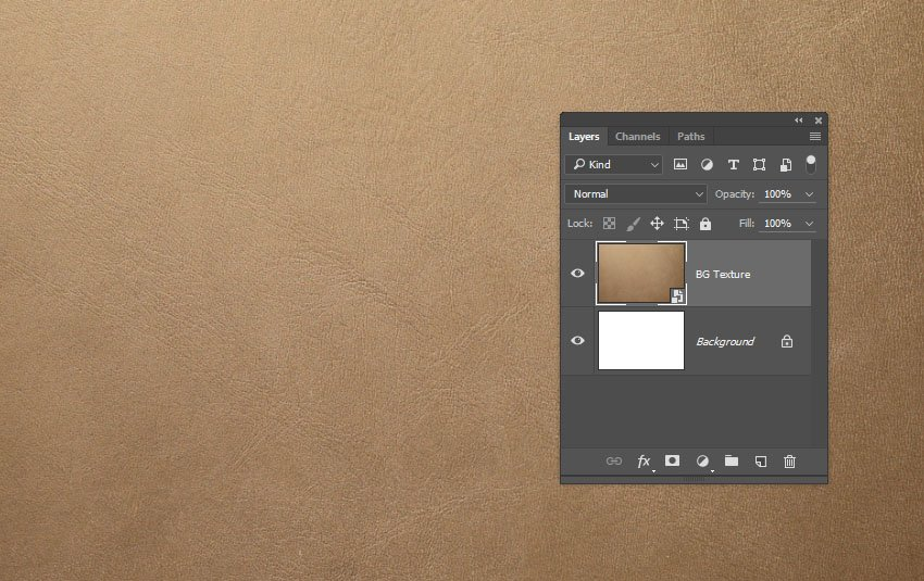 Place the Leather Texture
