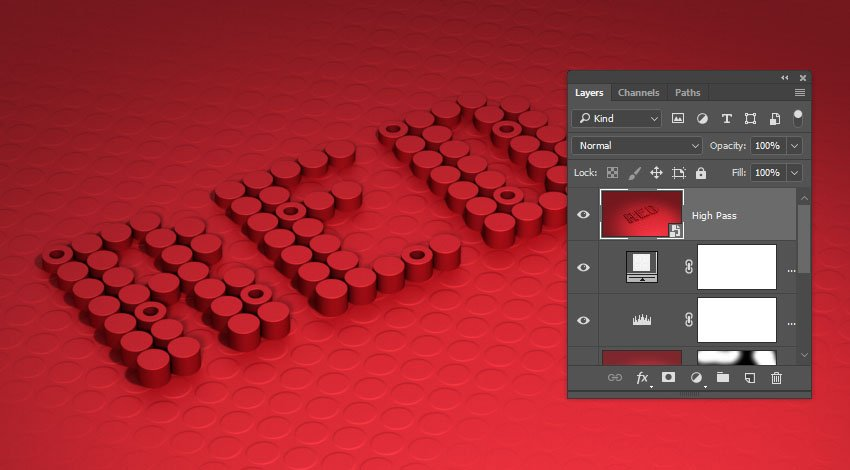 Create a Stamp Layer Smart Object