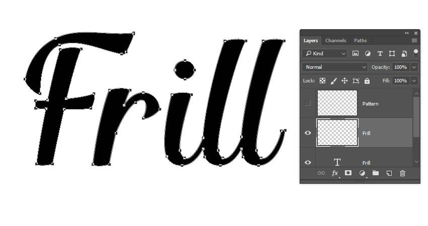 Create a Frill Layer