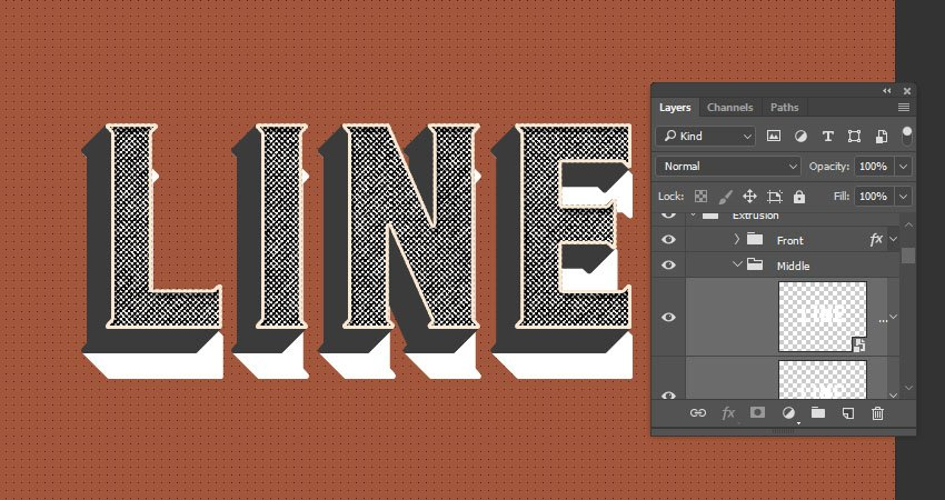 Copy and Paste the Layer Style