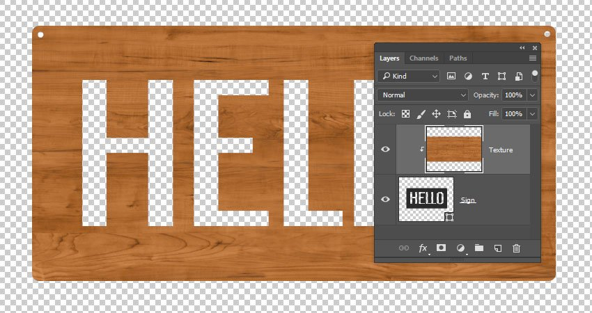 Edit the Sign Texture