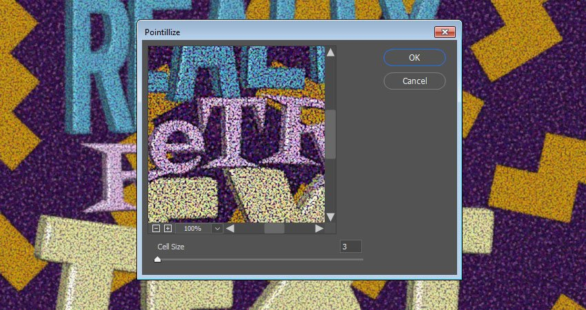 Pointillize Filter