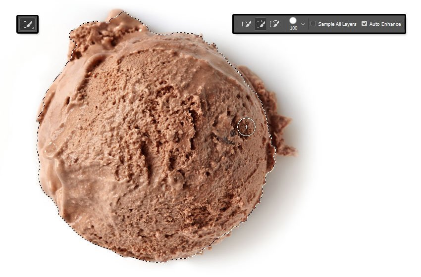 Select and Copy the Scoop Image