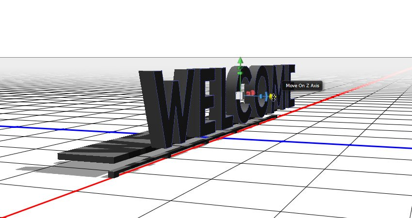 The 3D Axis