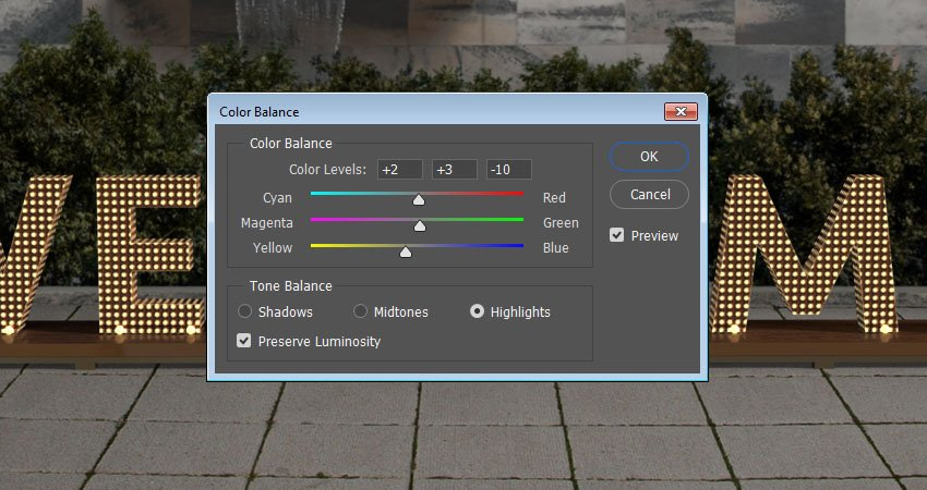 Color Balance - Highlights