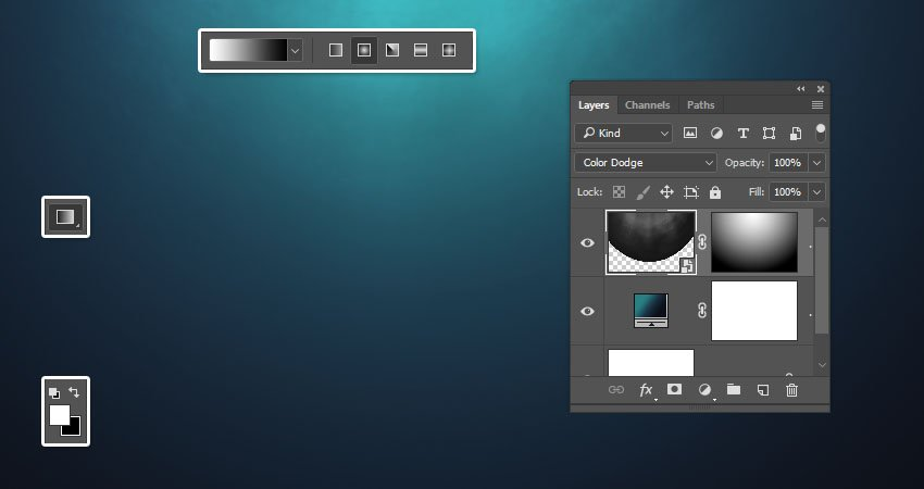 Create a Gradient Mask
