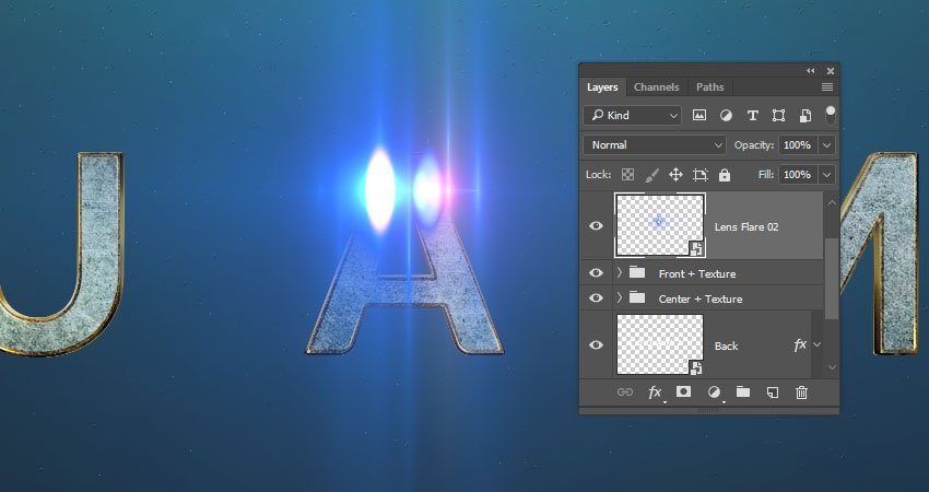 Add the Lens Flare