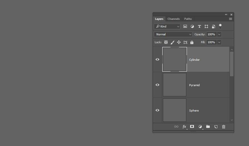 Create the 3D Shape Layers