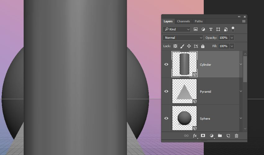 Create the 3D Layers