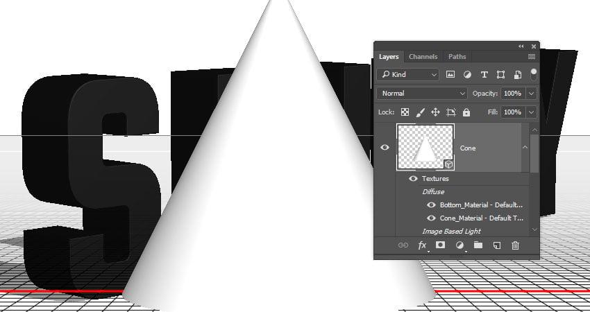 Create the Cone 3D Mesh