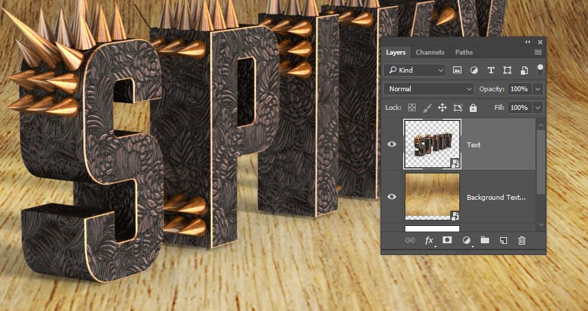 Render the 3D Layer