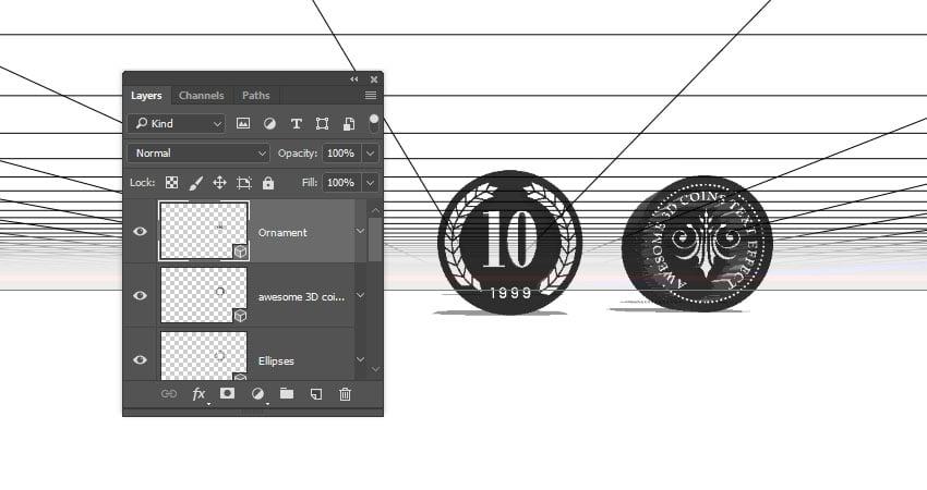 Create 3D Layers