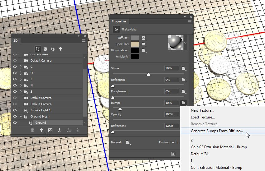 Generate Bumps From Diffuse