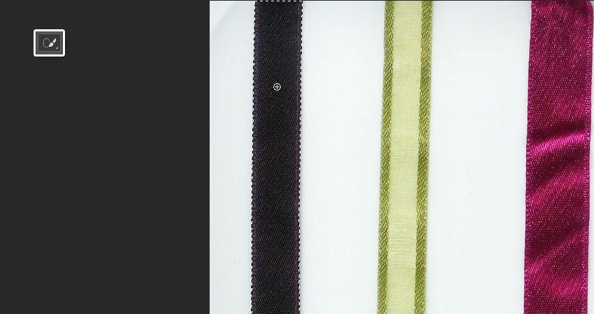 Select the Ribbon