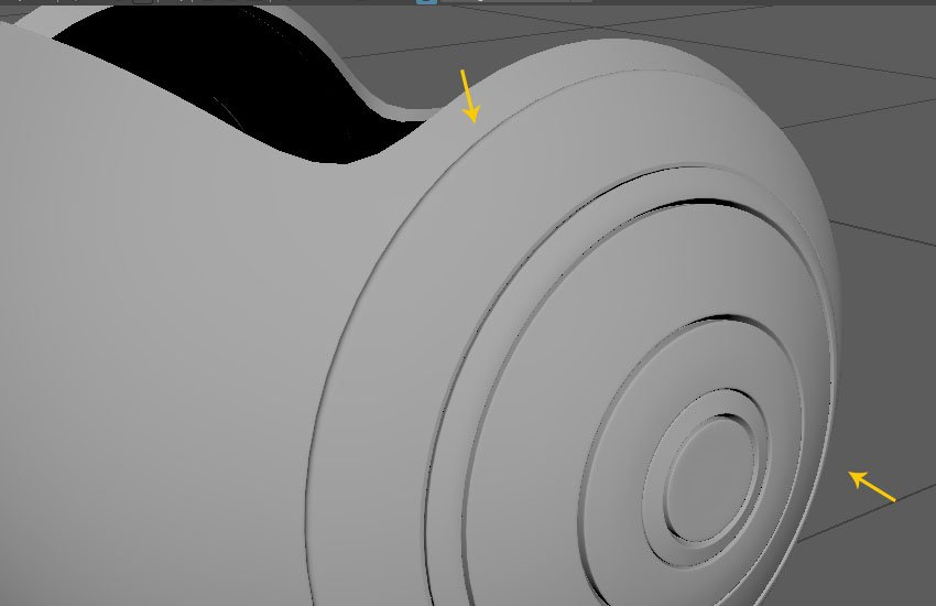 Smooth shaded preview