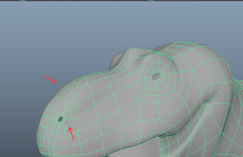Edit the vertices
