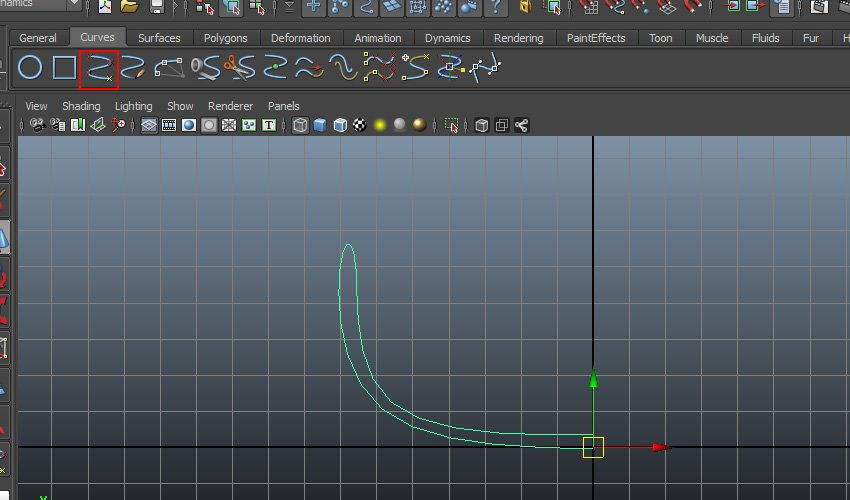 Curves EP Curve Tool