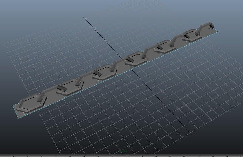 Keep creating edge loops