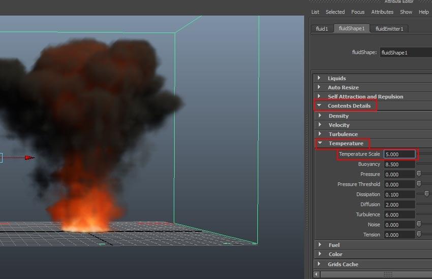 Dynamic Simulation Temperature