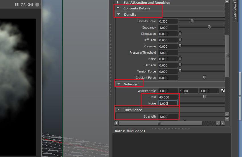 Content Details  Density Velocity