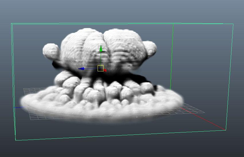 Dust simulation
