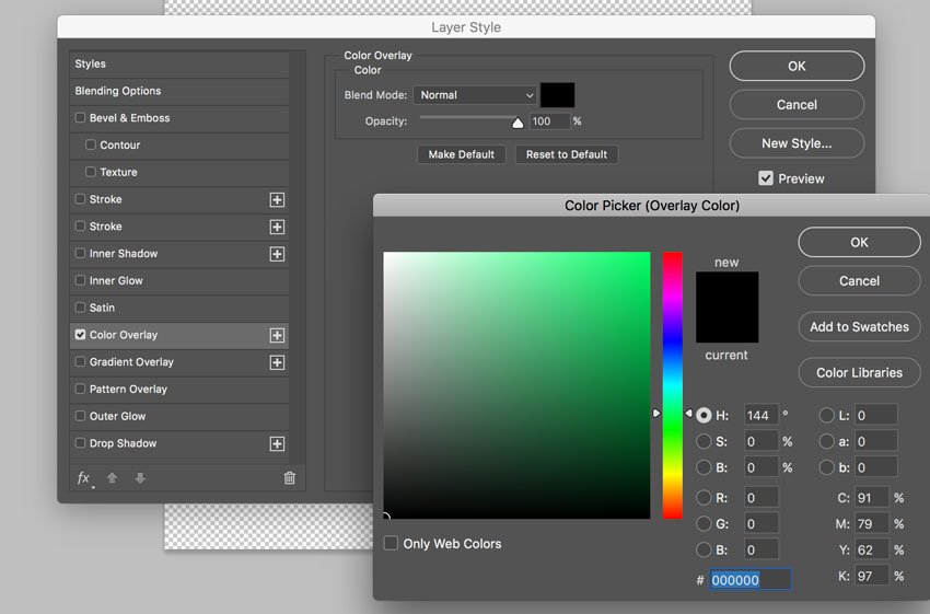 Gradient Overlay panel