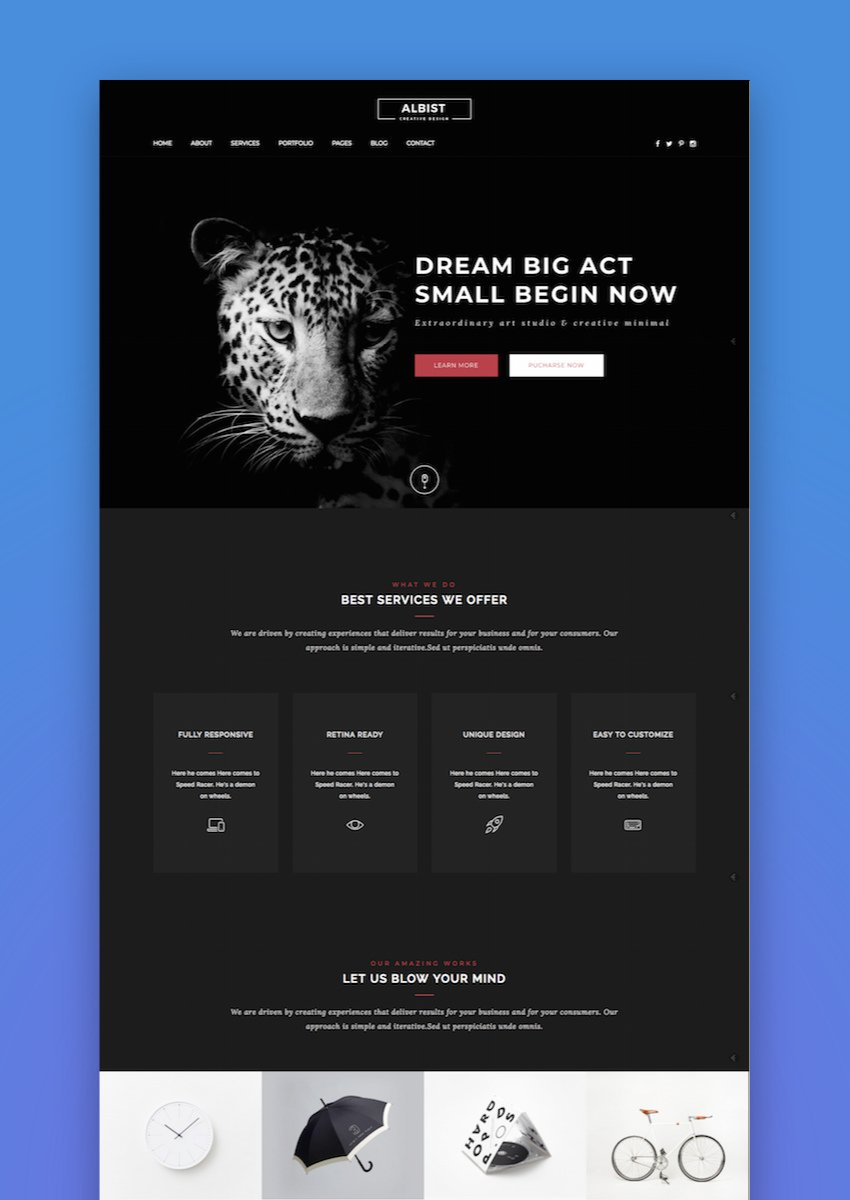 ALBIST - Creative Multipurpose WordPress Theme