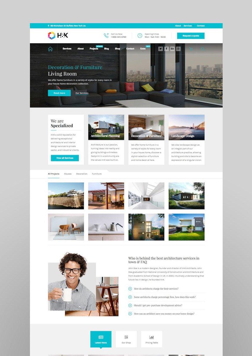 Hnk - Architecture Business WordPress Theme