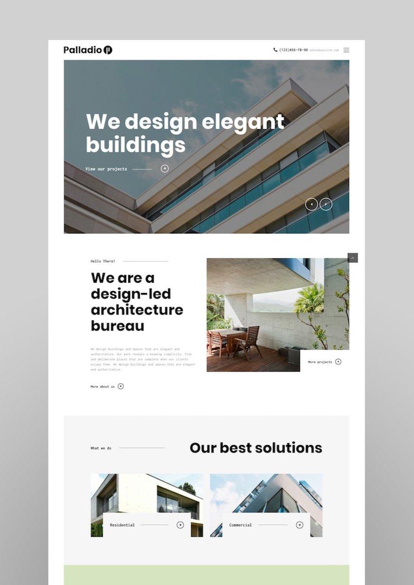 Palladio  Interior Design  ArchitectureTheme