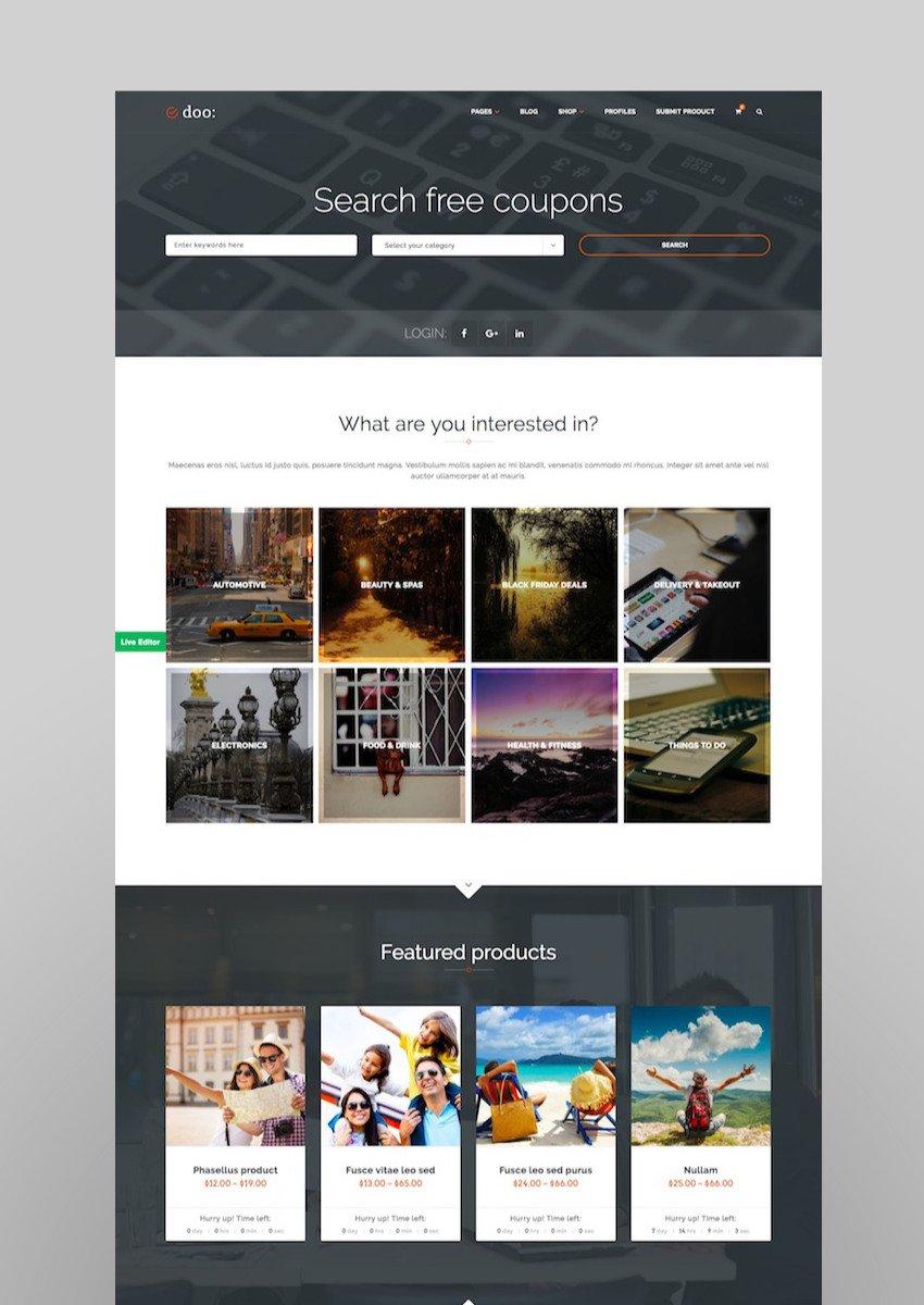 WordPress Affiliate Marketing Theme - doo
