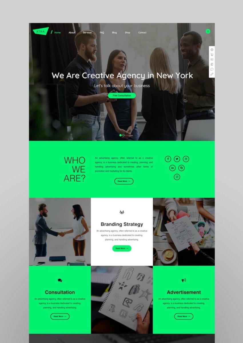 XTRA - Multipurpose WordPress Theme RTL