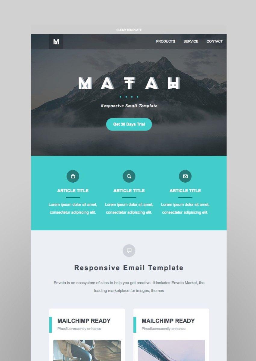 Matah  Responsive Email Set