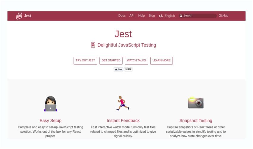 Delightful JavaScript testing using Jest