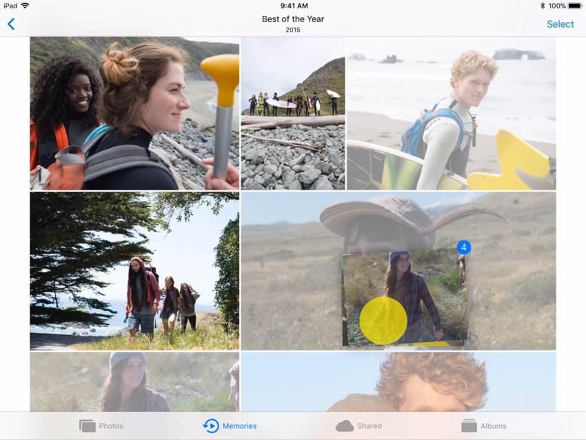 Photos on iOS 11 source Apple