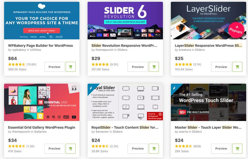 Best Selling Carousel  Slider WordPress Plugins On CodeCanyon