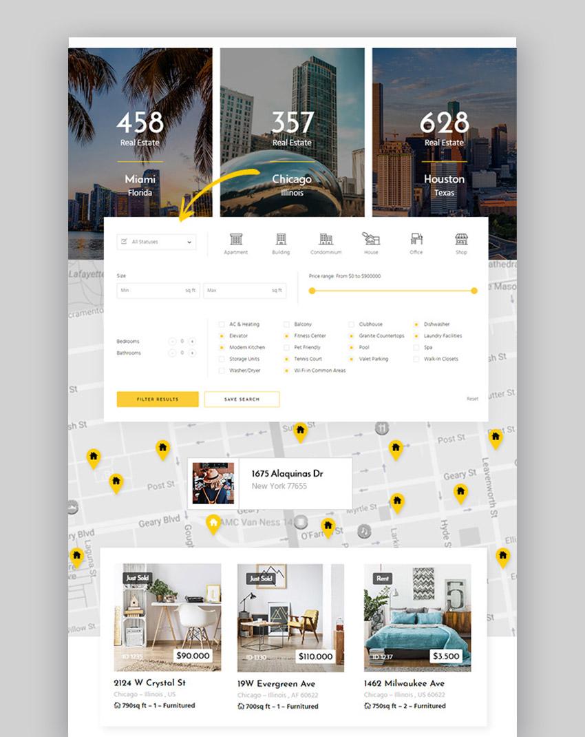 Zuhaus  - Tema de WordPress para inmobiliaria