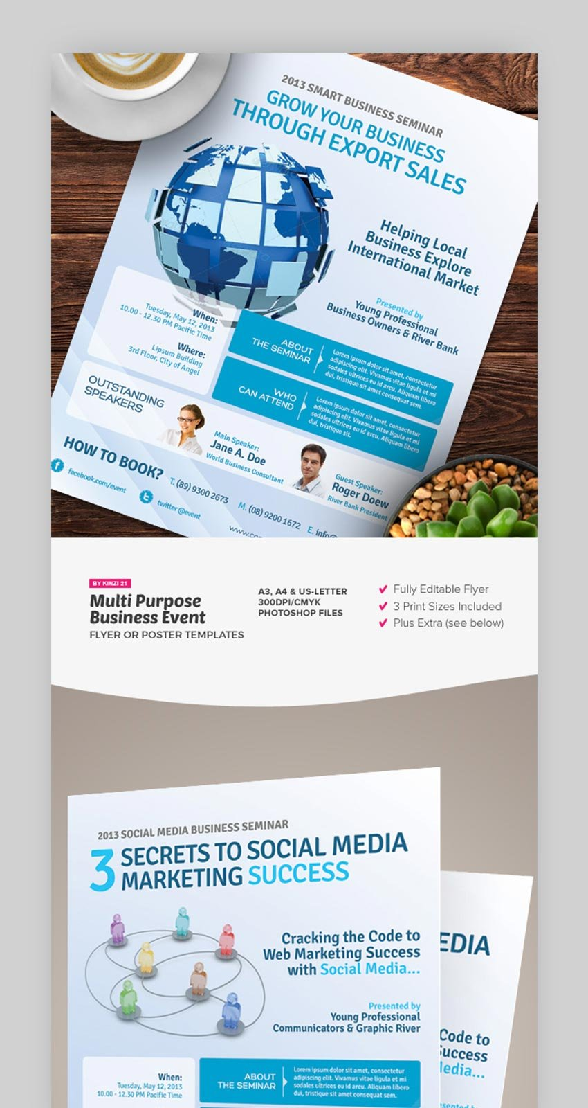 Multi Purpose Business Event Flyer or Poster