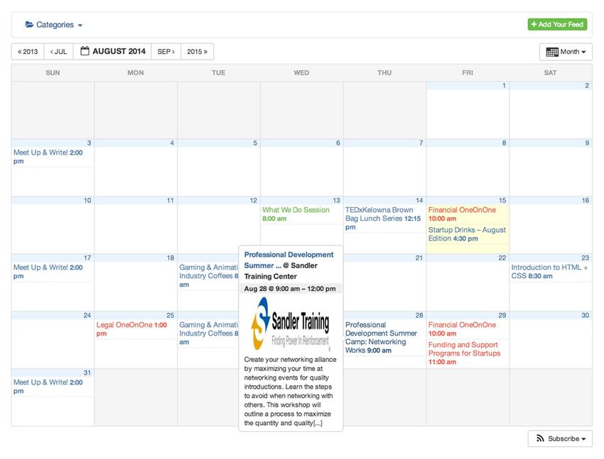 All-in-One Event Calendar
