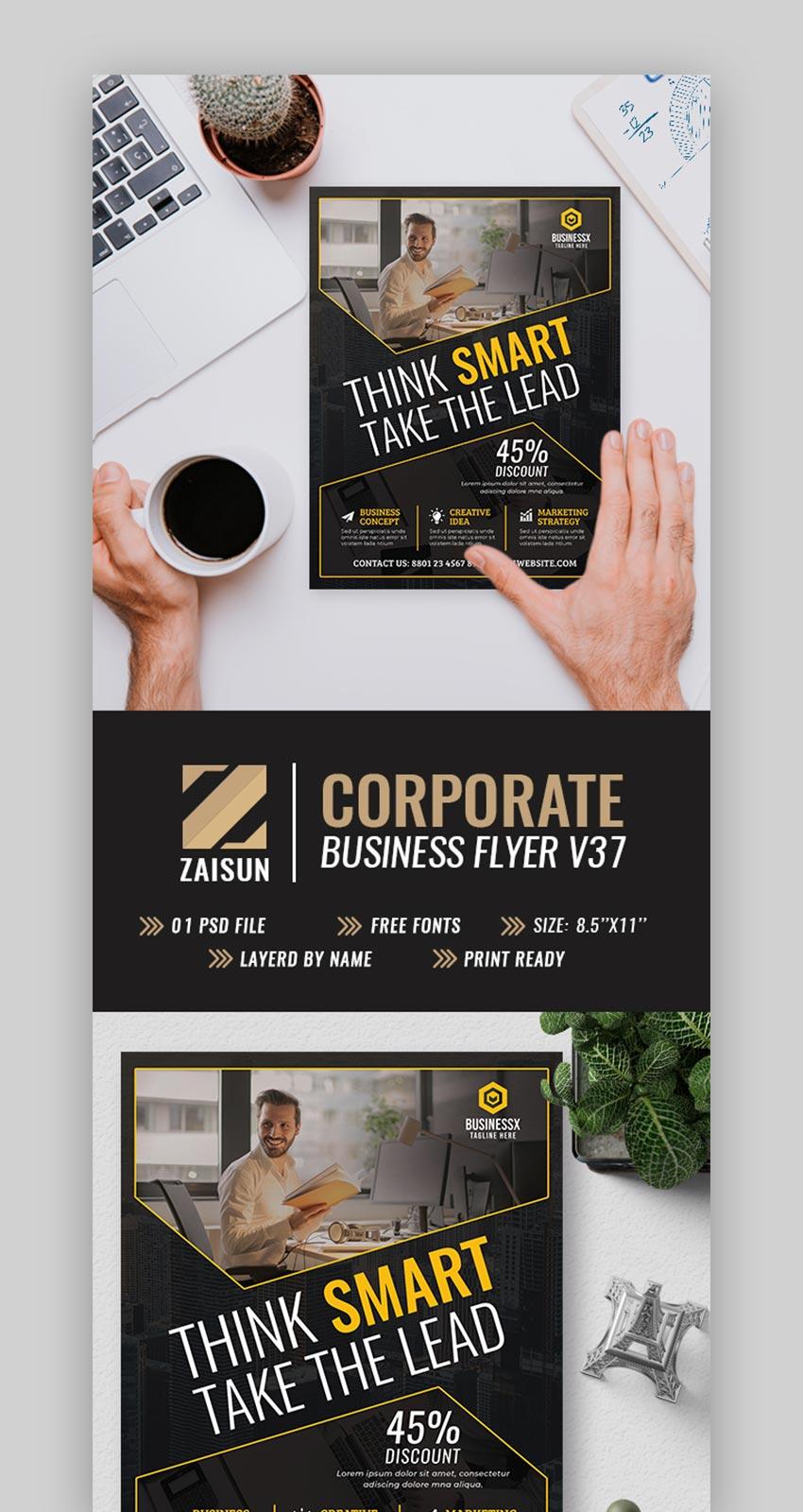 Corporate Business Flyer V37