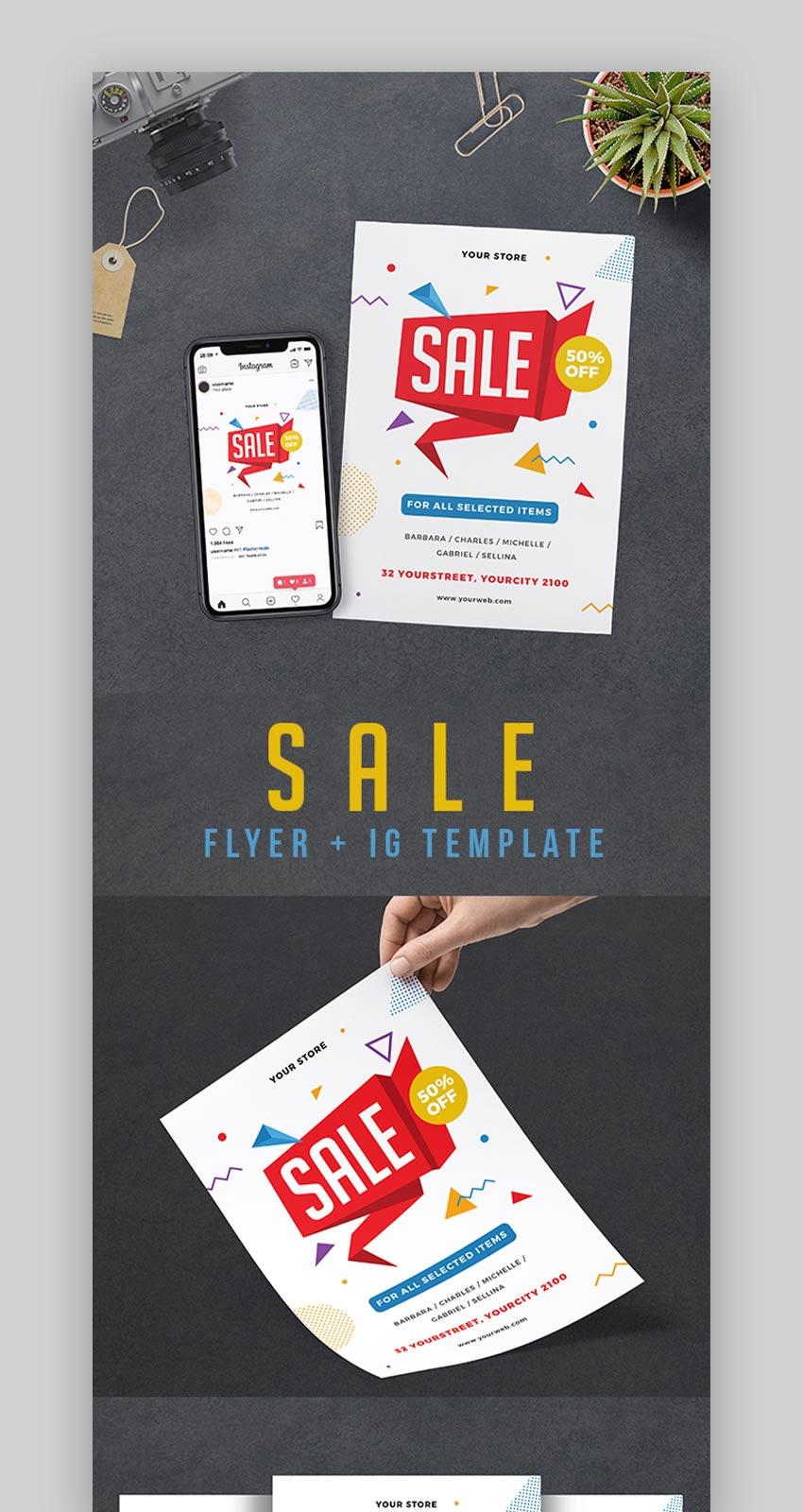 Store Sale Flyer