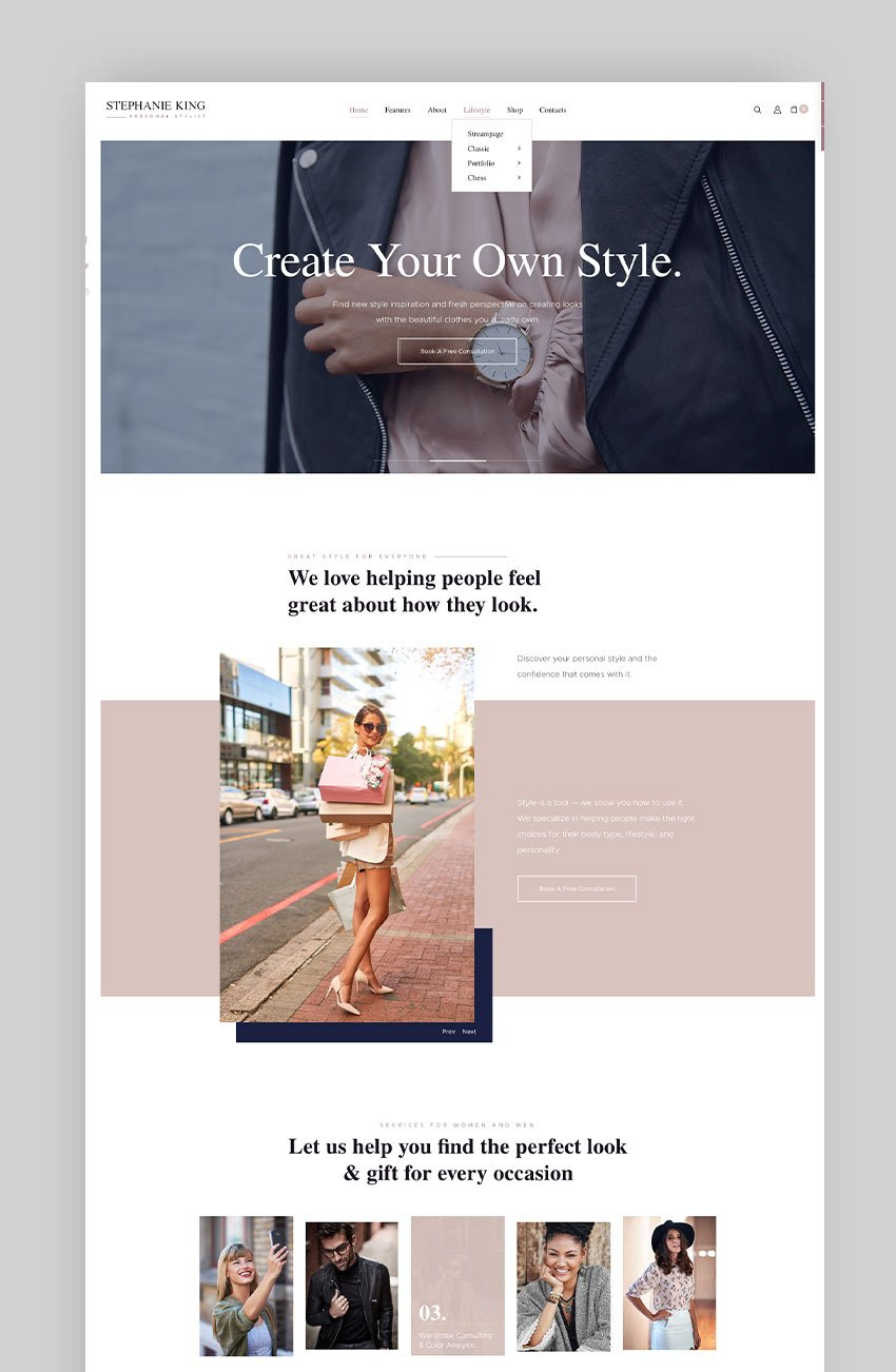 SKing - Personal Stylist and Fashion Blogger
