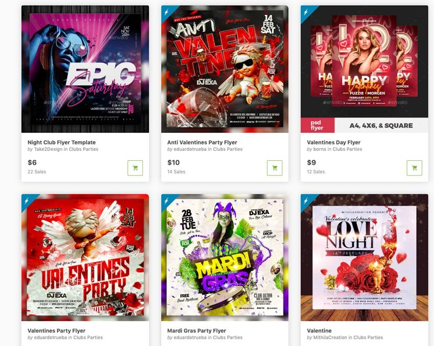 Best-Selling Modern Design Templates on GraphicRiver