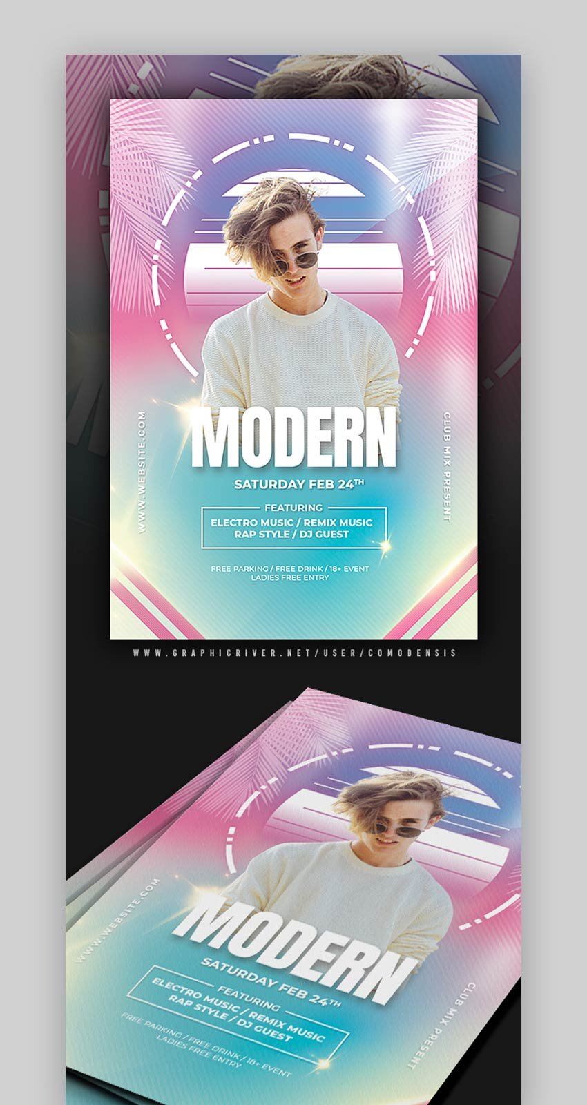 Modern Party Flyer Templates