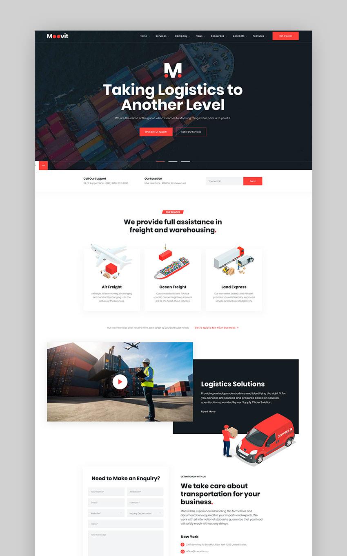 Moovit - Transportation  Logistic WordPress
