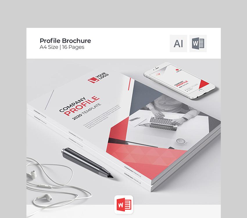 Company Brochure Word Template