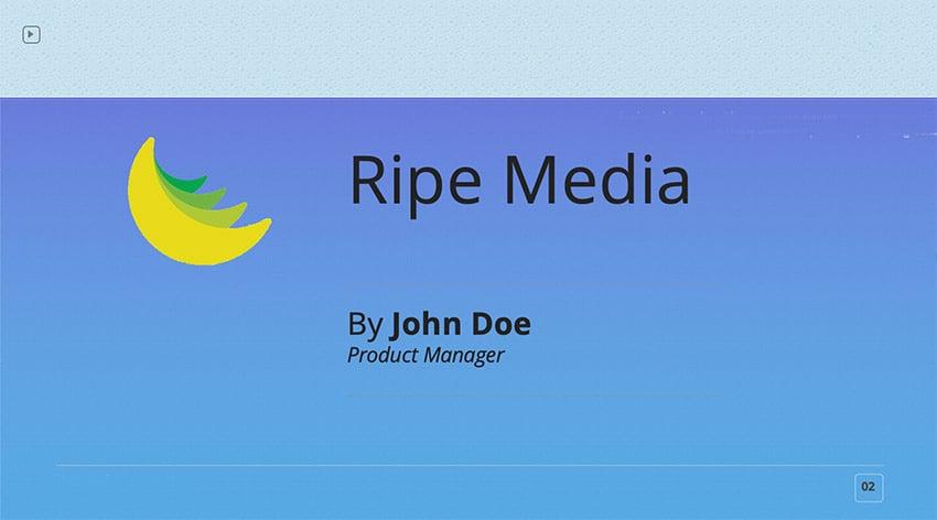 Finished Slide Design